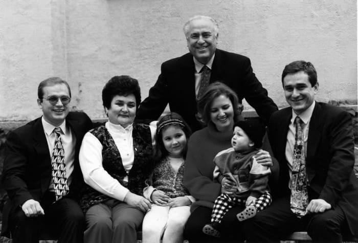 Семья Виктора Черномырдина