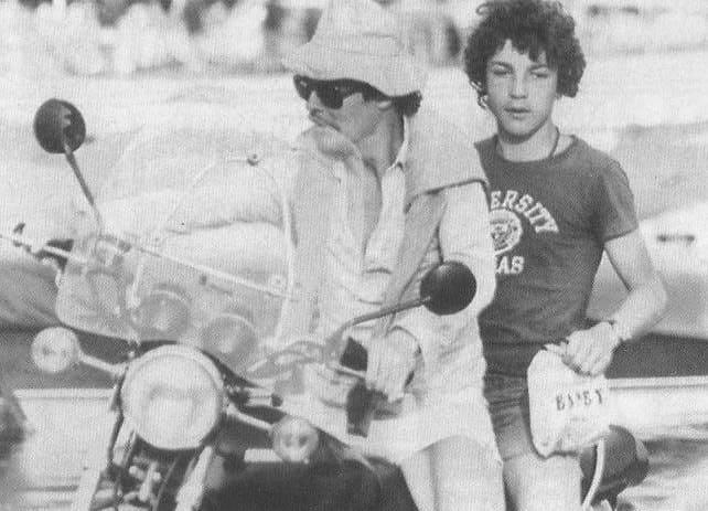 Сын Брижит Бардо с отцом