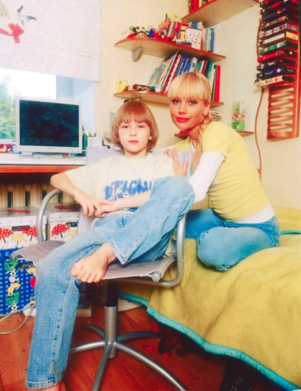 Арсений Кориков с мамой