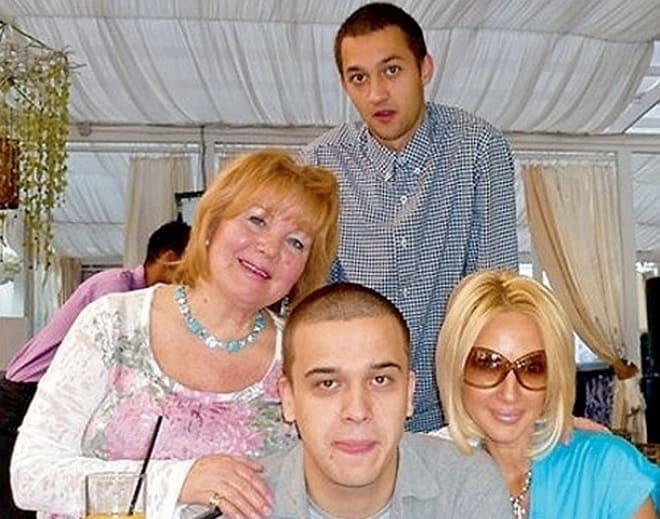 Жан Ленюк с Лерой Кудрявцевой