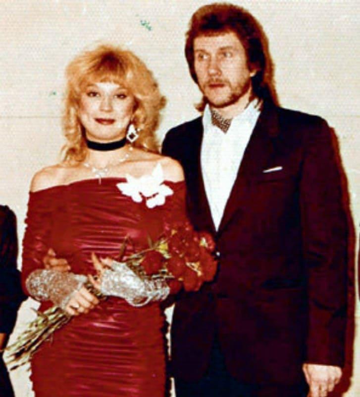 Маша Распутина с первым мужем Владимиром Ермаковым