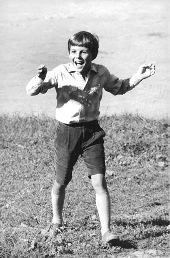 Патрик Кристальди в детстве