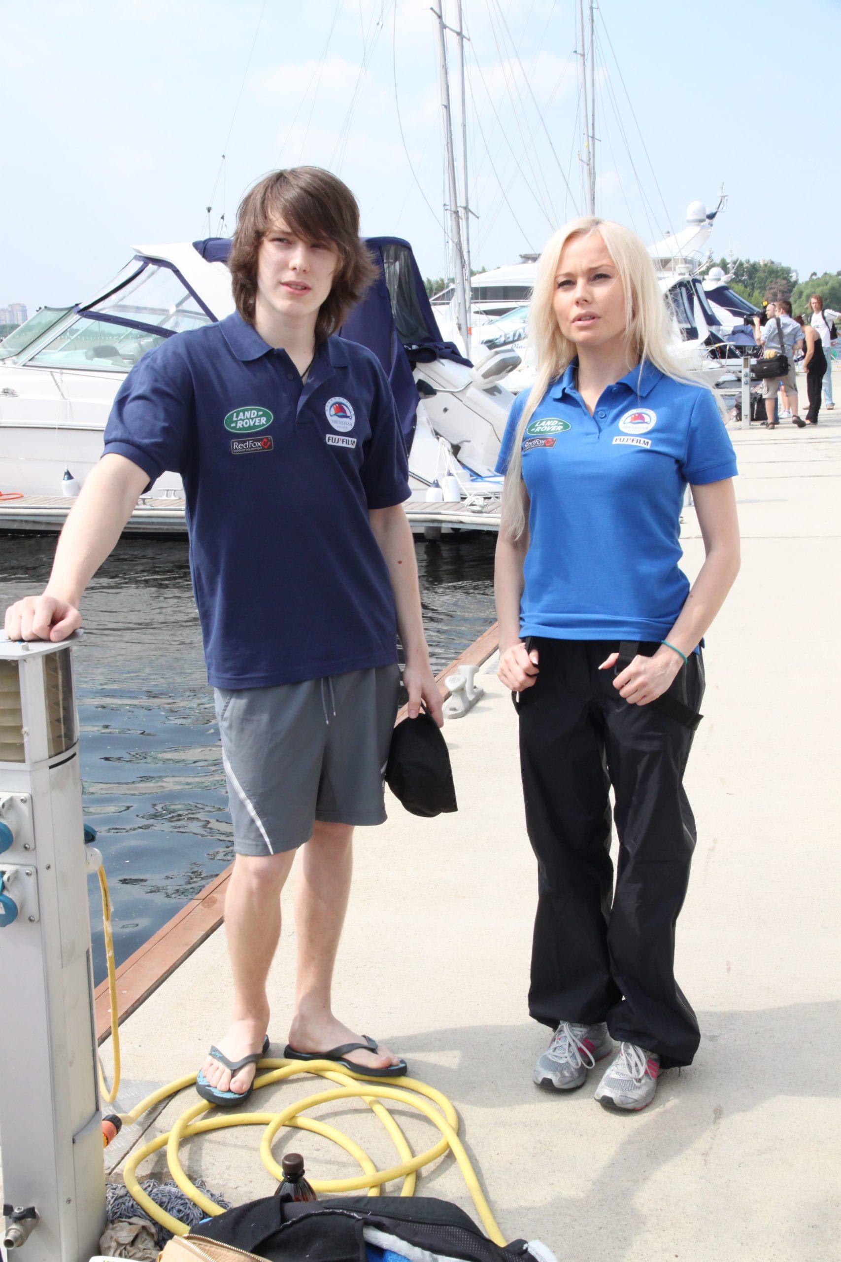 Елена Корикова с сыном
