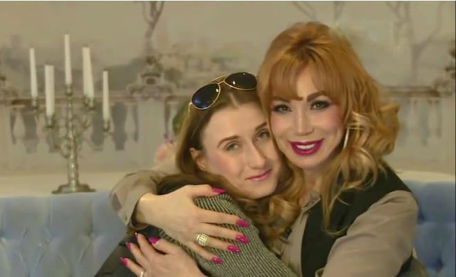 Маша Распутина и ее дочь Лидия после примирения
