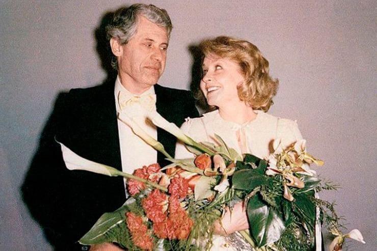 Ангелина Вовк с мужем иностранцем