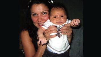 анна нетребко с новорожденным сыном