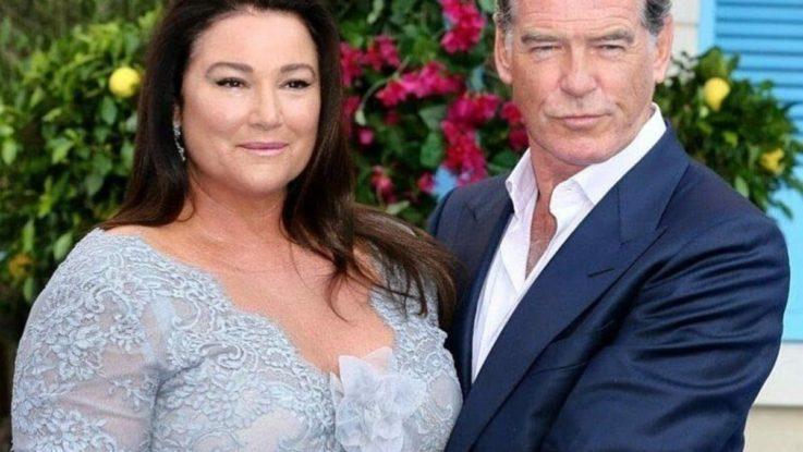 Пирс Броснан и его жена которая весит 120 кг