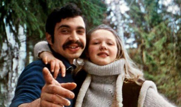 Елена Проклова с первым мужем Виталием Мелик-Карамовым
