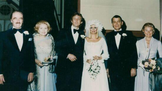 свадьба дональда и иваны трамп