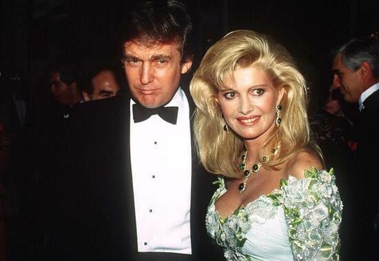Ивана и Дональд Трамп