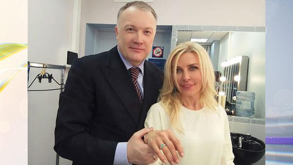 Татьяна Овсиенко со вторым мужем