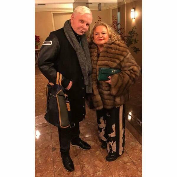Борис Моисеев и его невеста Адель