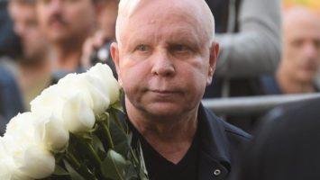 Борис Моисеев на похоронах Кобзона