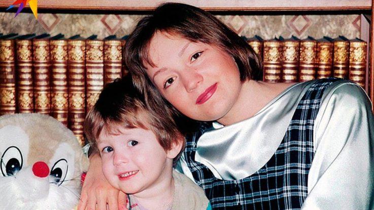 Татьяна Буланова со старшим сыном в детстве