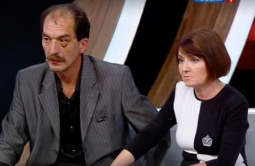 Родители Милены Подсиневой на телепередаче