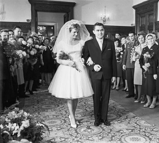 Брак Валентины Терешковой и Андрияна Николаева окрестили «космической свадьбой»