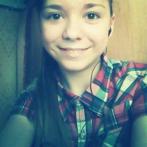 Милена Подсинева в 12 лет