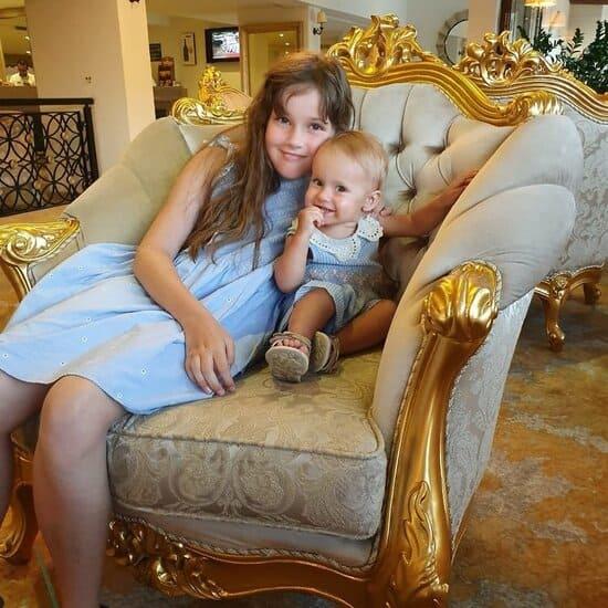 Дочери Светланы Зейналовой
