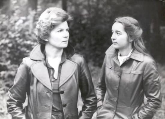Валентина Терешкова с дочерью