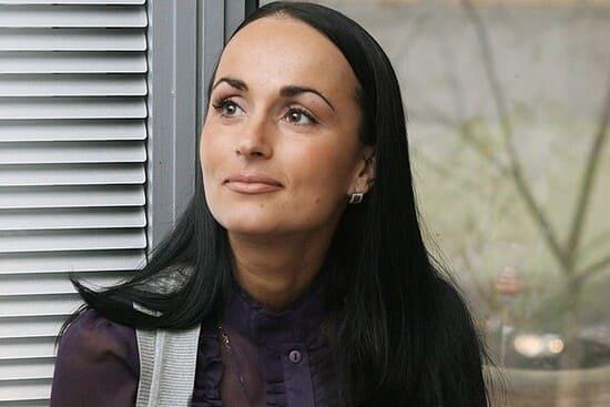 Ирина Волк без яркого макияжа