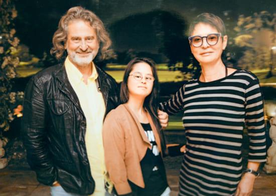 Владимир Сиротинский и Ирина Хакамада с дочерью Марией