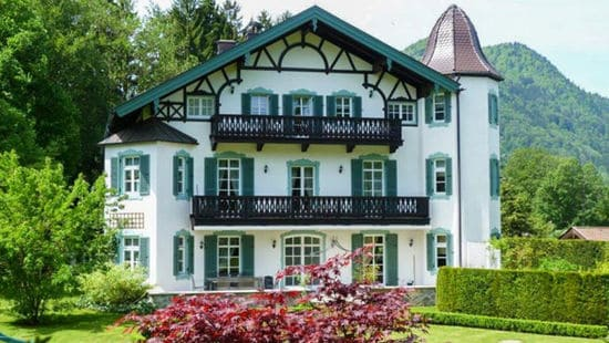 Дом Горбачева в Баварских Альпах