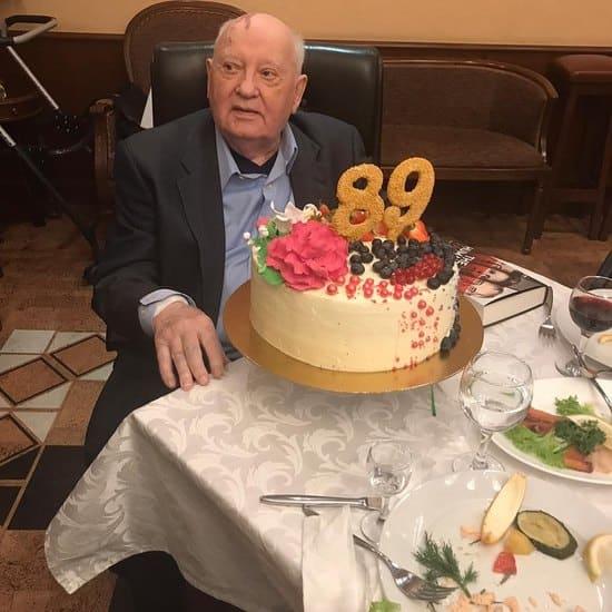 Михаил Горбачев в свой день рождения 2 марта 2020