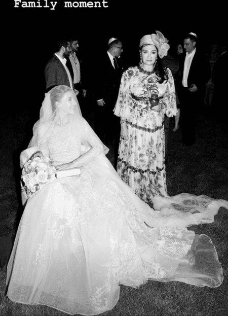 Свадебное фото: Саша Винер и свекровь Ирина Винер