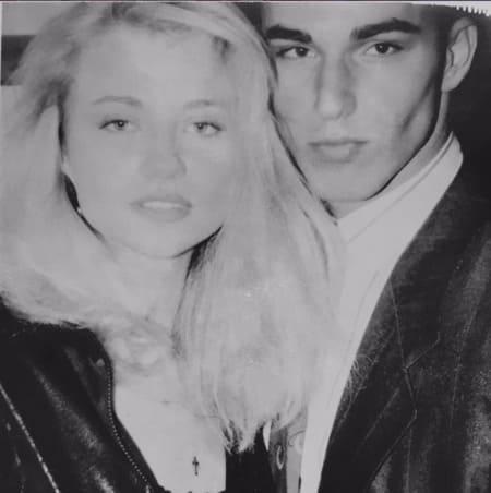 Кирилл Андреев и Маша Миронова 1990 год