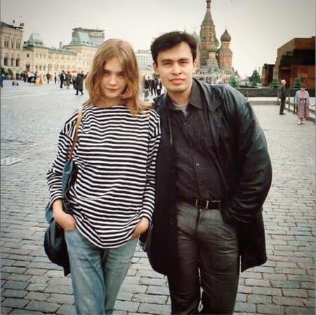 Наталья Водянова и Алексей Васильев