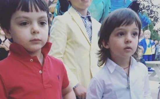 Сын Стоцкой и сын Киркорова