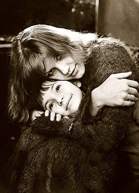 Елена Проклова с дочерью Ариной