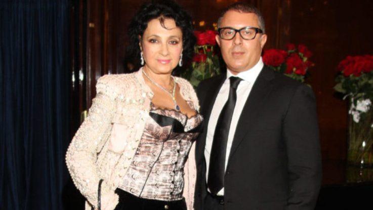Ирина Винер и ее сын Антон (Натан)