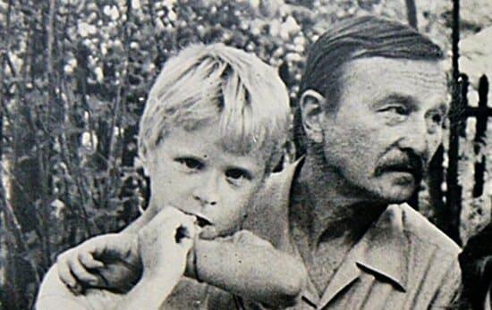Сын Толкуновой с отцом