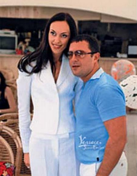 Антон Винер с первой женой Юлианной
