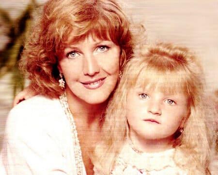 Елена Проклова с младшей дочерью Полиной
