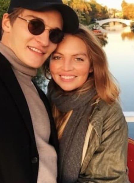 Матвей Лыков с женой