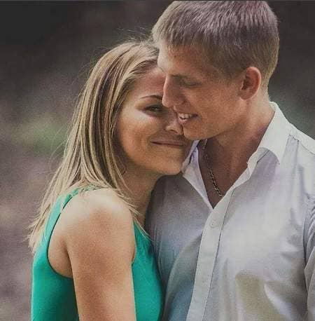 алексей щербаков и его жена Елена