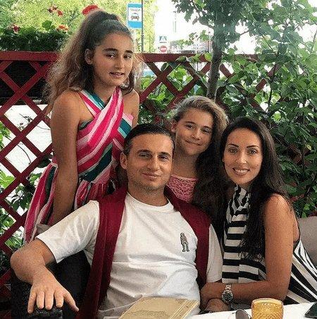 Семья Алсу. Муж Ян Абрамов, дочери Сафина и Микелла