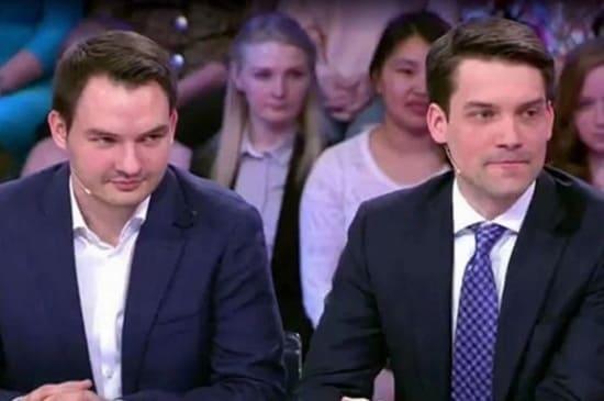 Сыновья Елены Малышевой. Василий (слева), Юрий (справа)