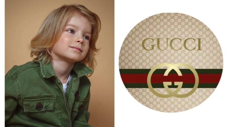Леон Сокол - юная звезда детской коллекции Гуччи