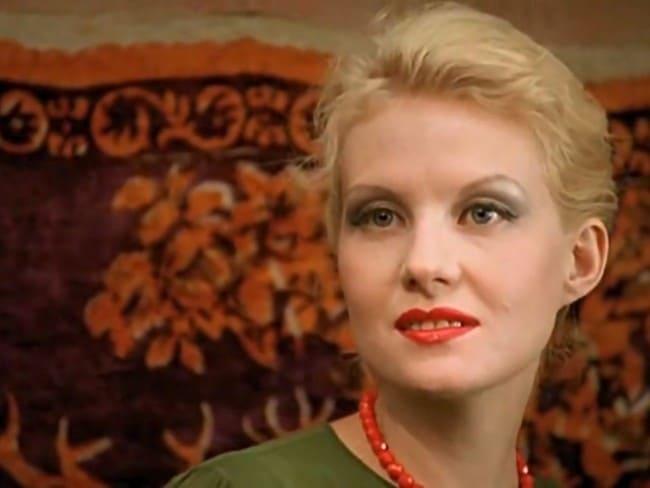 Рената Литвинова в молодости до пластики носа