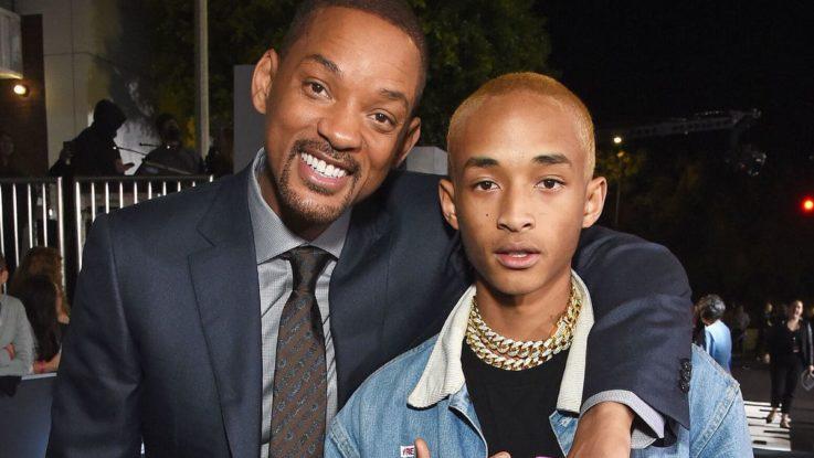 Уилл Смит и его младший сын Джейден