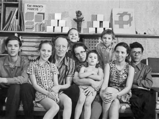 Большая семья Никитиных