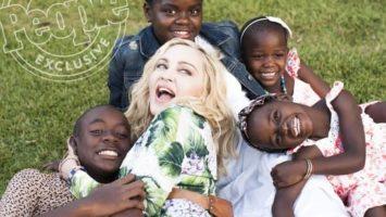 Мадонна с приемными детьми