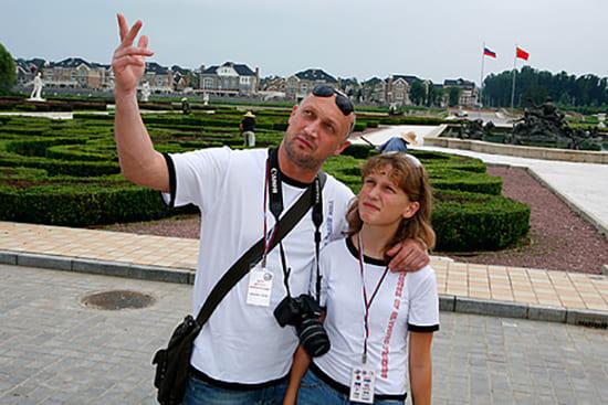 Коша Куценко с дочерью Полиной