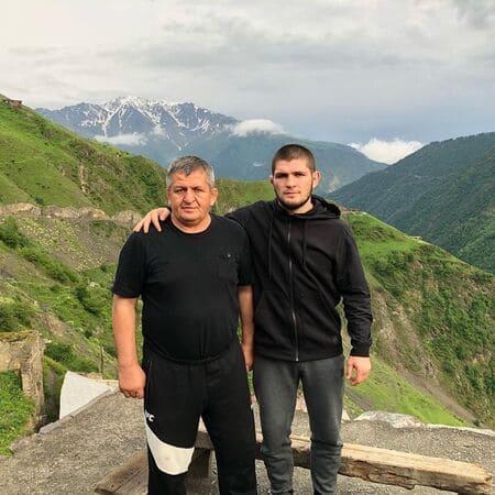 Абдулманап и Хабиб Нурмагомедовы