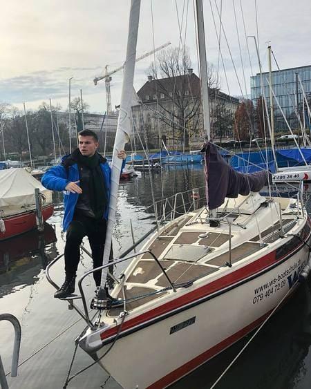 Филипп Газманов на яхте