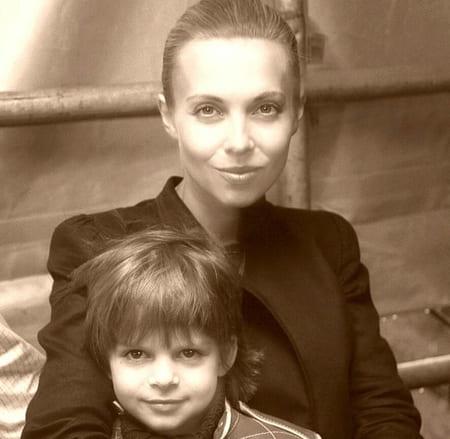 Филипп Газманов с мамой Мариной Муравьевой
