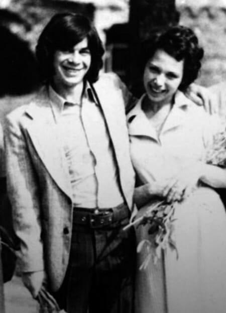 Олег и Ирина Газмановы в день свадьбы, 1975 г.